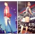 """Bí quyết sở hữu thân hình như siêu mẫu của cô gái từng có biệt danh """"thẳng tuột như móc áo"""""""