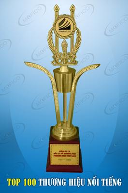 cup vang mofico top 100 thuong hieu 2013