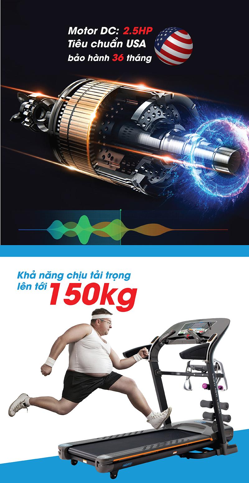 Động cơ mạnh mẽ MHT 1430