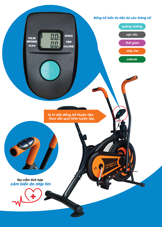 thông tin xe đạp tập MO2060